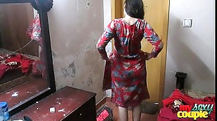Indian Wifey Sonia In Shalwar Suir Strips Naked Hardcore XXX Fuck