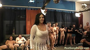 buxomy ashley cum in real gangbang