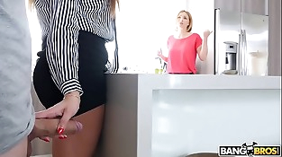 BANGBROS - Juan &quot_El Caballo&quot_ Loco Fucks The Hot French Teacher Anissa Kate