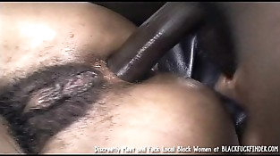 Perky Tit Youthfull Hairy Thicket Black Girl Loves A Hard Ass fucking Fuck From Massive Dick