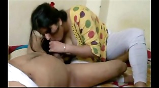 indian horny wifey sucking blowjob