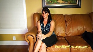 Porno audition fucking and spunking in her mouth