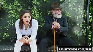 RealityKings - Teenagers Love Thick Cocks - (Abella Danger) - Bus Bench Creepin