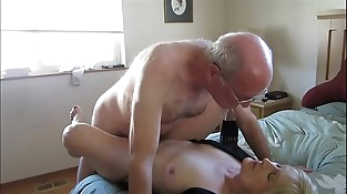 Old Couple Hooks Up Online For Lovemaking