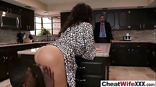 (lisa ann) Hot Sexy Wife Get banged In Cheating Sex Scene mov-20