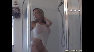Mummy Takes a Sexy Shower