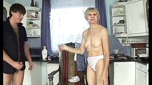 Granny chooses banging with youthful man
