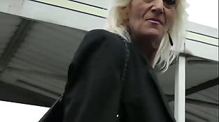 Mature blonde 55 years fucked by Bob Deker
