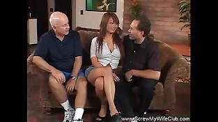 Interracial Swinger Activity With Asian MILF