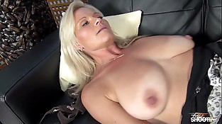 Very horny hot Mummy fuck like Mom his stepson on fake casting