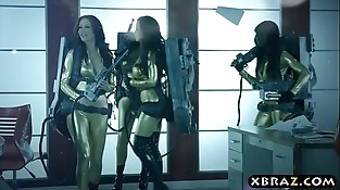 Ghostbuster parody where hot pornstars fuck in an orgy