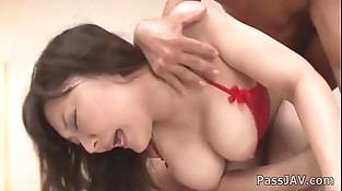 Deep anal pounding for sexy babe Hinata Komine