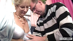 Buxomy german milf gets bitchy