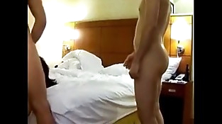Wife shared with many boyfrends in hotel