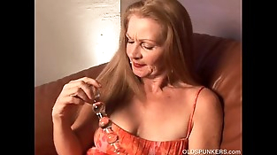 Naughty old spunker wishes you were fucking her delicious cunt